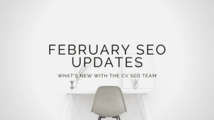 February SEO Updates title graphic
