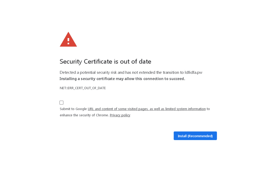 Is Your SSL Certificate Expired? -